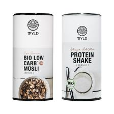 Bio Low Carb Müsli (575g) + Bio Protein (450g)