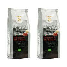 2 x Italienischer Bio Espresso gemahlen (2x250g)