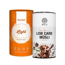 Bio Low Carb* Müesli (350g) + Xucker light europ. Erythrit (1000g)
