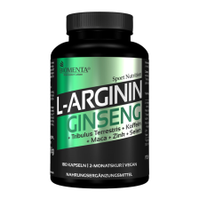 L-Arginin+Ginseng - 2 Monatskur (180 Kapseln)