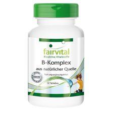B-Komplex aus natürlicher Quelle (60 Tabletten)