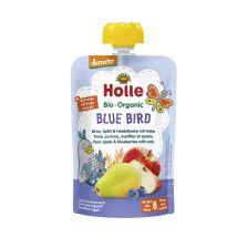 Demeter Blue Bird - Pouchy Birne, Apfel & Heidelbeere mit Hafer, ab dem 6. Monat (100g)