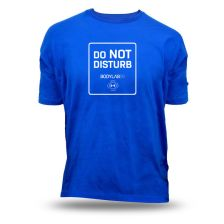 T-Shirt blau 'Do not disturb'