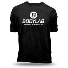T-Shirt Schwarz mit weißem Logo - XXL