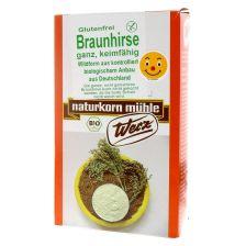 Braunhirse ganz und keimfähig bio (500g)