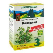 Brennnessel Naturreiner Heilpflanzensaft bio (3x200ml)