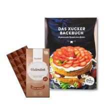 Das Xucker Backbuch + gratis Xylit-Vollmilchschokolade (100g)