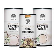 "1 x Demeter Chia Porridge Schoko & Banane ""Morning Motivator"" (350g) + Bio Protein Shape Shifter  (450g)"