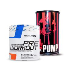 Animal Pump (30 Beutel) + BL24 Concentrated Pre Workout (375g)