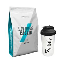 Micellar Casein (1000g) + GRATIS Vitafy Shaker (600ml)