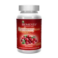 Cranberry 1000 + Vitamin C (60 Kapseln)