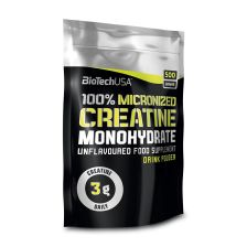 100% Creatine Monohydrate Bag (500g)