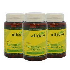 3 x Curcuma Bio (3x90 Kapseln)