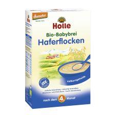 鸿乐婴儿天然有机燕麦米粉 4个月起 250g  Bio-Babybrei Haferflocken, nach dem 4. Monat (250g)