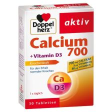 Calcium + D3 (30 Tabletten)