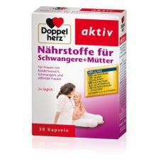 Nährstoffe für Schwangere + Mütter  (30 Kapseln)