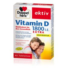 Vitamin D 1800 I.E. Extra (45 Tabletten)