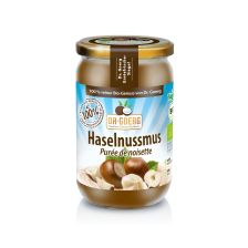 Premium Bio-Haselnussmus (200g)