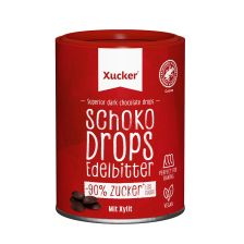 Chocolate Drops Dark Chocolate met finse xylitol (200g)