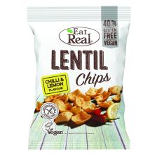 Lentil Chips Chilli & Lemon (113g)