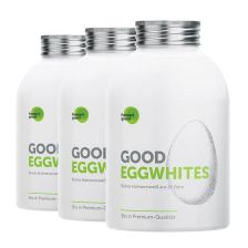 3 x Good Eggwhites Bio-Eiklar (3x483ml)