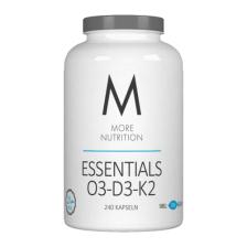Essentials O3-D3-K2 - Fischgelatine (240 Kapseln)