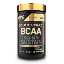 Gold Standard BCAA Train&Sustain - 266g - Cola