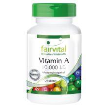 Vitamin A 10.000 I.E. (120 Tabletten)