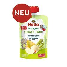 Demeter Fennel Frog - Pouchy Birne mit Apfel & Fenchel, ab dem 6. Monat (100g)