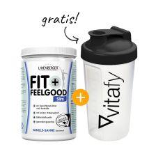Fit+Feelgood Mahlzeitersatz SLIM (430g) + GRATIS Vitafy Shaker (600ml)