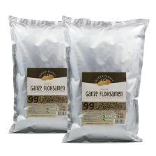 2 x Golden Peanut Indische Flohsamen ganz 99% (2x1000g)