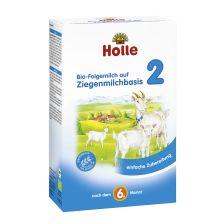 Bio-Folgemilch 2 auf Ziegenmilchbasis, nach dem 6. Monat (400g)