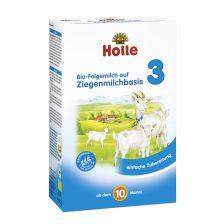 Bio-Folgemilch 3 auf Ziegenmilchbasis, ab dem 10. Monat (400g)