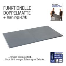 "FLEXI-SPORTS Functional Training Doppelmatte + Übungs-DVD ""Training mit dem Funktionalem Boden"""