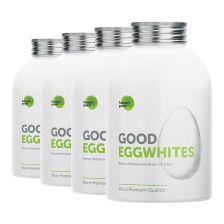 4 x Good Eggwhites Bio-Eiklar (4x483ml)