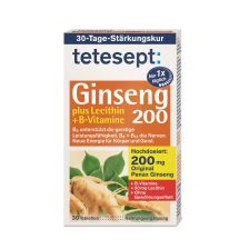 Ginseng 200 plus Lecithin + B-Vitamine (30 Tabletten)