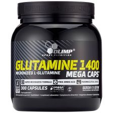 Glutamine Mega caps 1400 (300 caps)