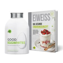 1 x Good Eggwhites Bio-Eiklar (483ml) + 1 x Eiweiß - Das gesunde Ernährungskonzept