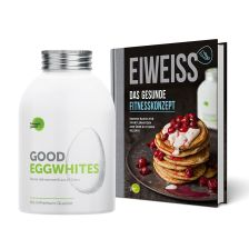 1 x Good Eggwhites Bio-Eiklar (483ml) + 1 x Eiweiß - Das gesunde Fitnesskonzept