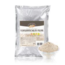 Flohsamenschalen Pulver 95% fein gemahlen (500g)