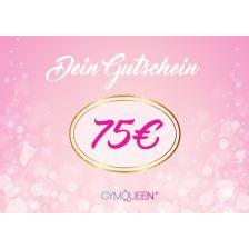 Online Shop Gutschein 75 €