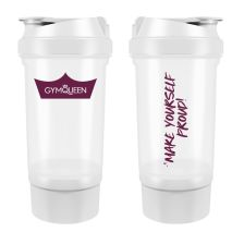 "Shaker mit Pulverfach ""Motivation Maker"" (500ml)"