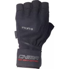 40142 Iron II Gloves (Schwarz)