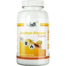 Health+ Ananas-Papaya-Enzyme (120 capsules)