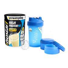 High Protein 90 (750g) + Blender Bottle Vitafy Prostak (650ml)