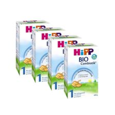 4x Hipp BIO Combiotik Folgemilch 1 (600g)