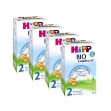 4x Hipp BIO Combiotik Folgemilch 2 (600g)