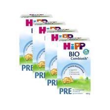 4x Hipp BIO Combiotik Anfangsmilch Pre (600g)