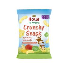 Bio Crunchy Snack Hirse Mango (25g) MHD 02.08.2018