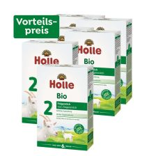 6 x Bio-Folgemilch 2 auf Ziegenmilchbasis, Vorteilspack, nach dem 6. Monat (6x400g)